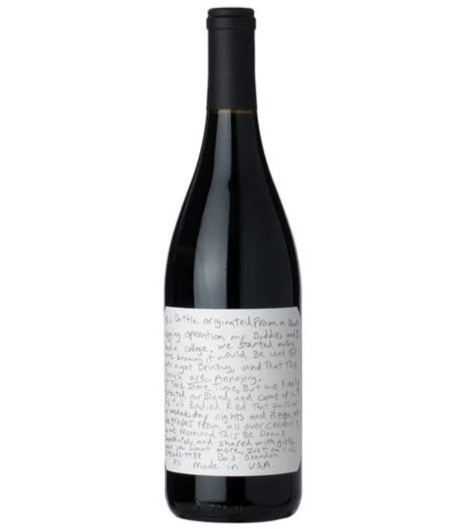 SLO Down Wines  Sexual Chocolate Red Blend