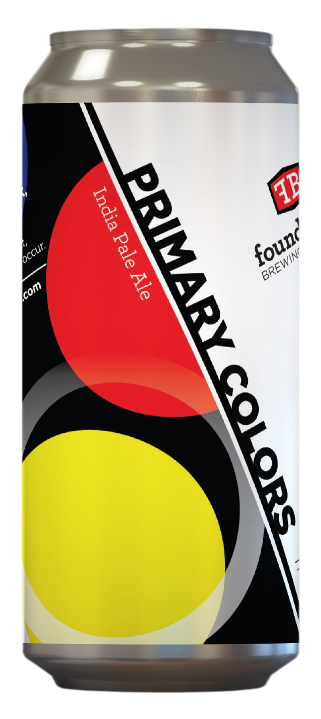 Foundation Foundation Primary Colors (4pk 16oz cans)