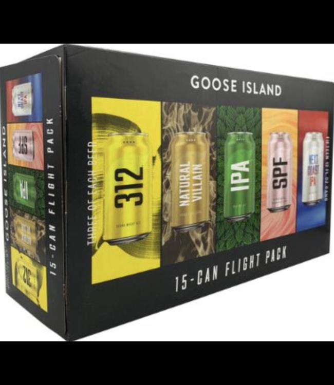 Goose Island Goose Island Flight Pack (15 pk 12 oz cans)