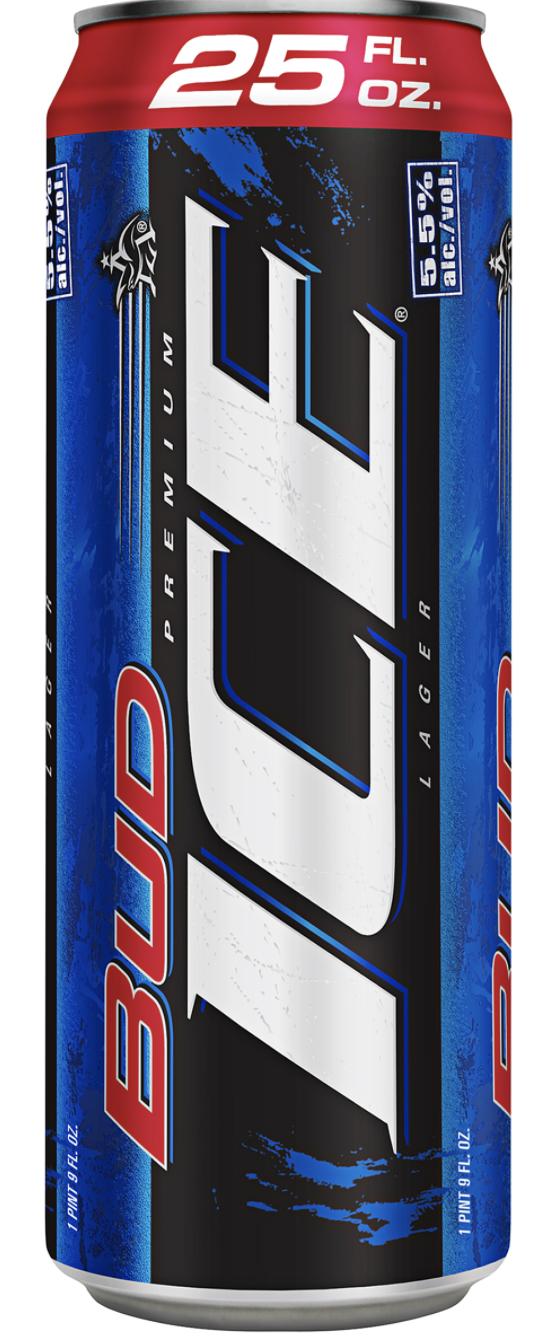 Budweiser Bud Ice (25 oz can)