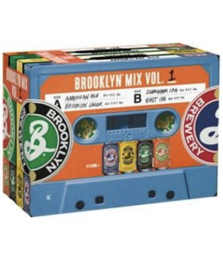 Brooklyn Brooklyn Mixed Tape Variety ( 12pk 12oz cans)