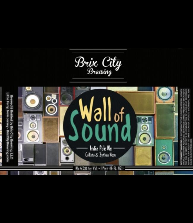 Brix City Brix City Wall of Sound (4pk 16oz cans)