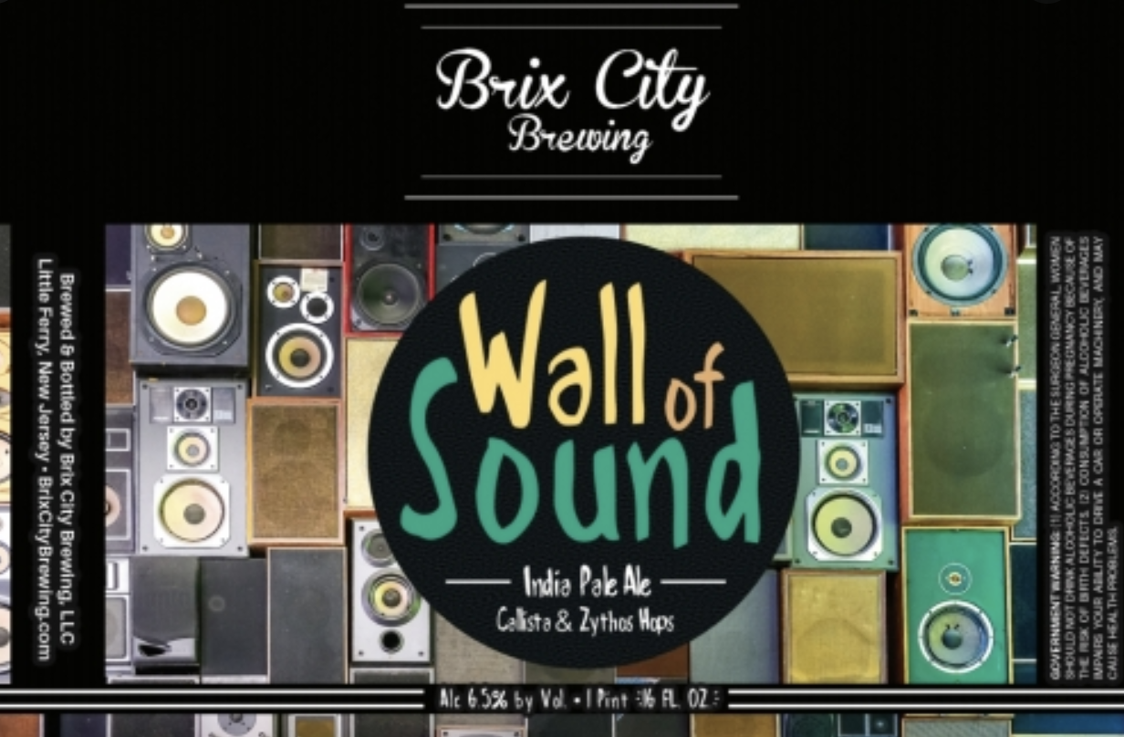 Brix City Wall of Sound (4pk 16oz cans)