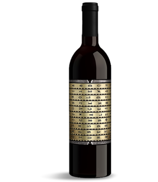 Unshackled Red Blend by Prisoner Wine Co