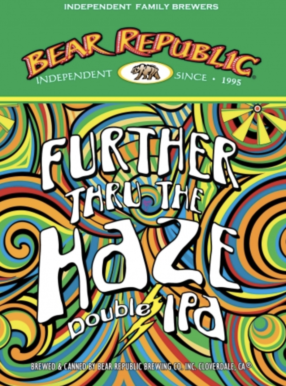 Bear Republic Further through the Haze (4pk 16oz cans)