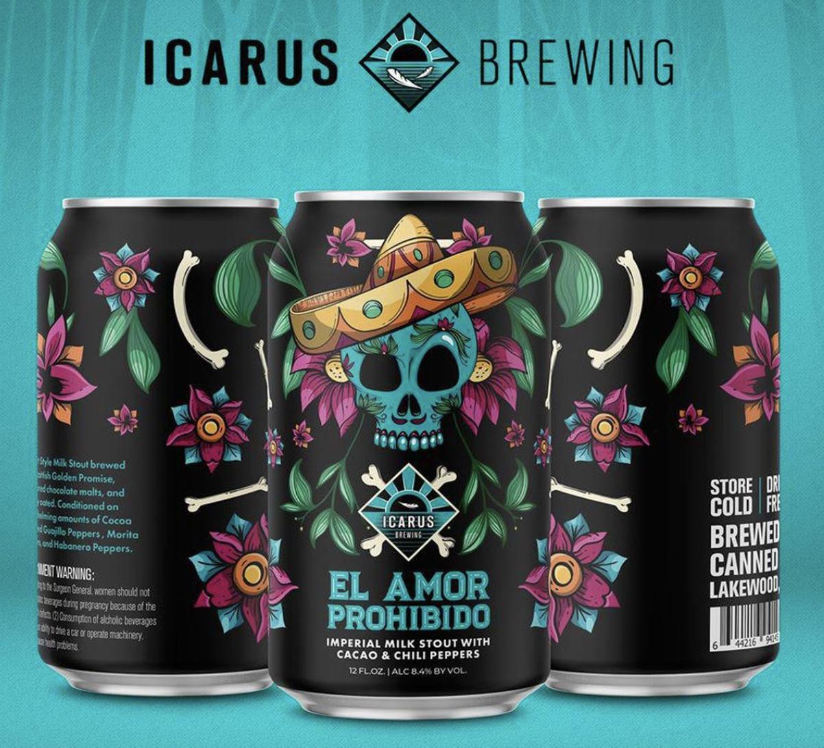 Icarus El Amor Prohibido (4Pk Cans 12oz)