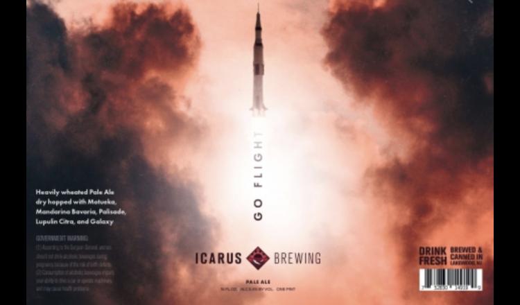 Icarus Icarus Go Flight (4pk 16oz cans)