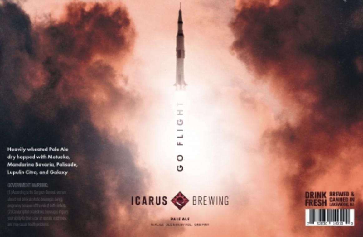 Icarus Go Flight (4pk 16oz cans)