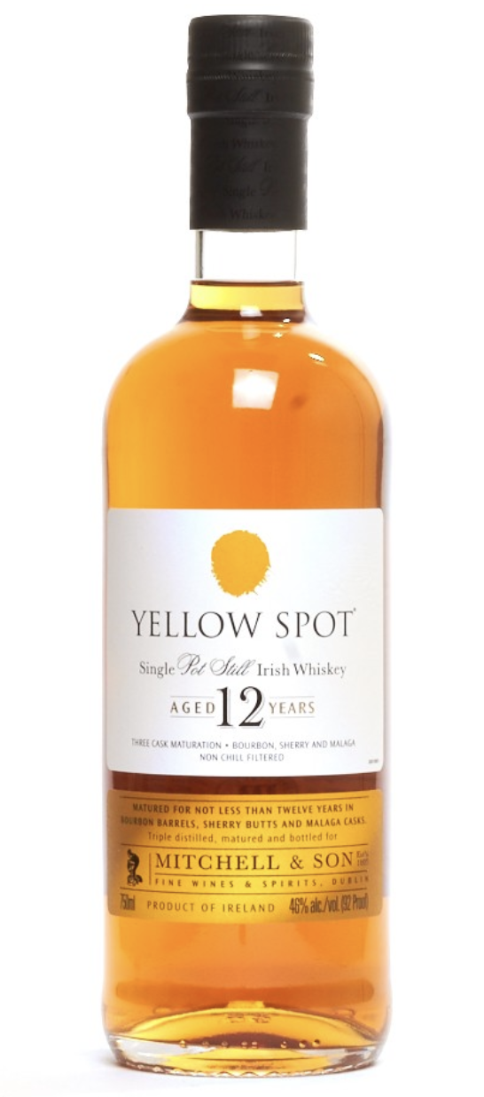 Yellow Spot Irish Whiskey 12 year 750ml