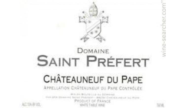 Saint Prefert Chateauneuf du Pape 2018