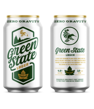 Zero Gravity Green State Lager (4pk 16oz cans)