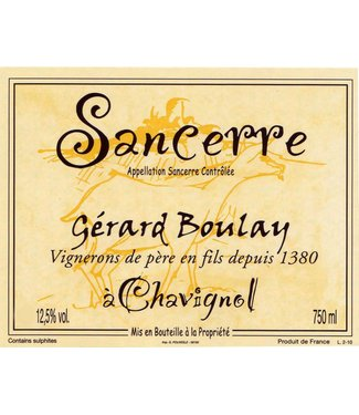 Boulay Sancerre Chavignol 2019