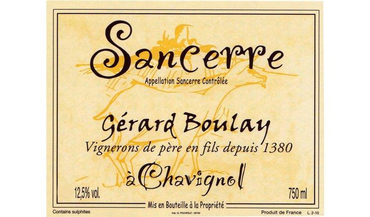 Boulay Sancerre Chavignol 2019