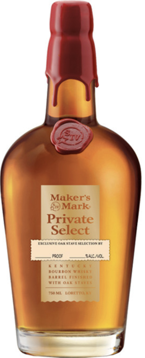 Makers Mark Private Select Barrel 750ml