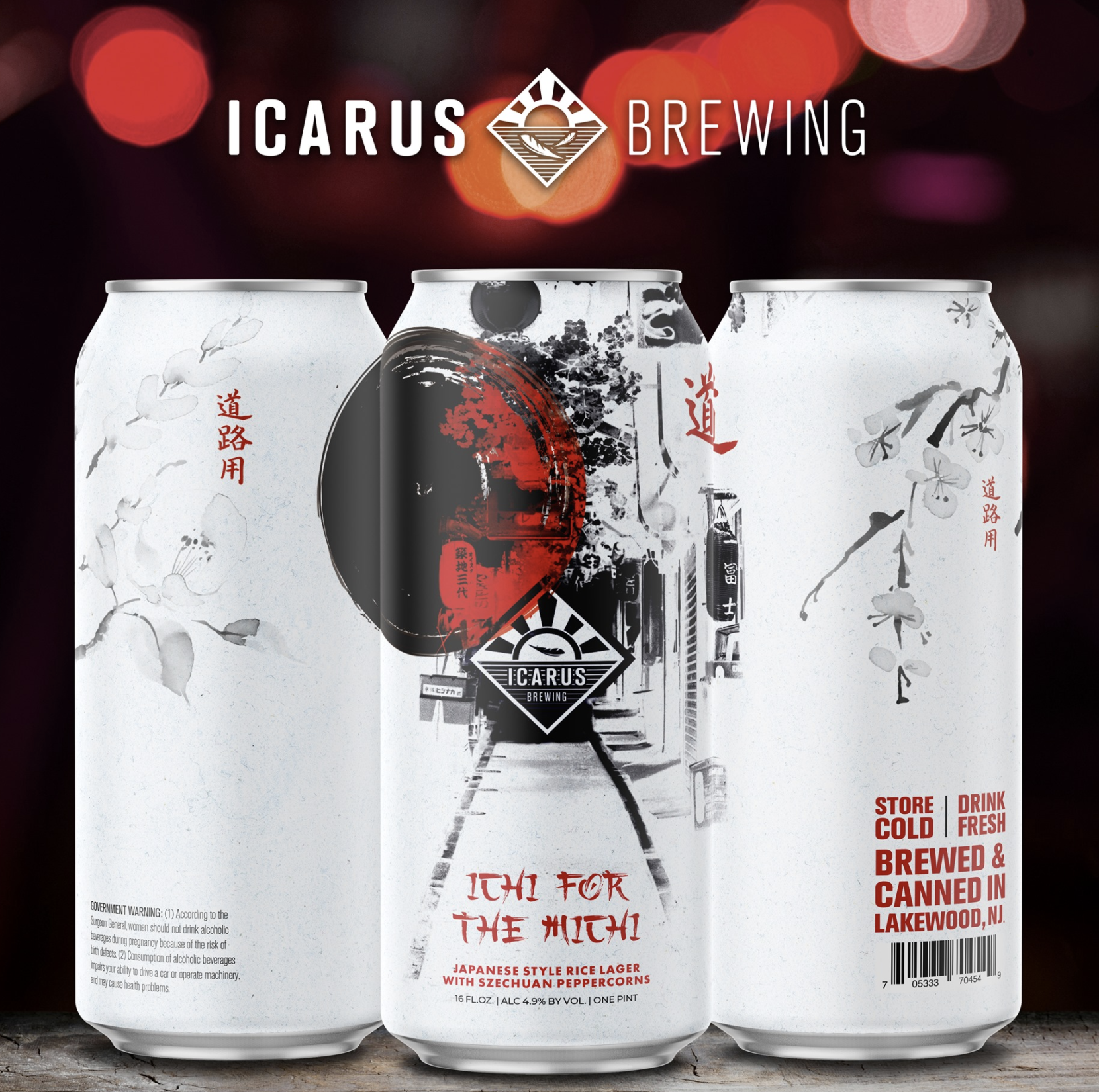 Icarus Ichi for the Michi (2pk 16oz cans)