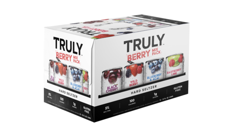 Truly Truly  Variety Berry (12pk 12oz cans)