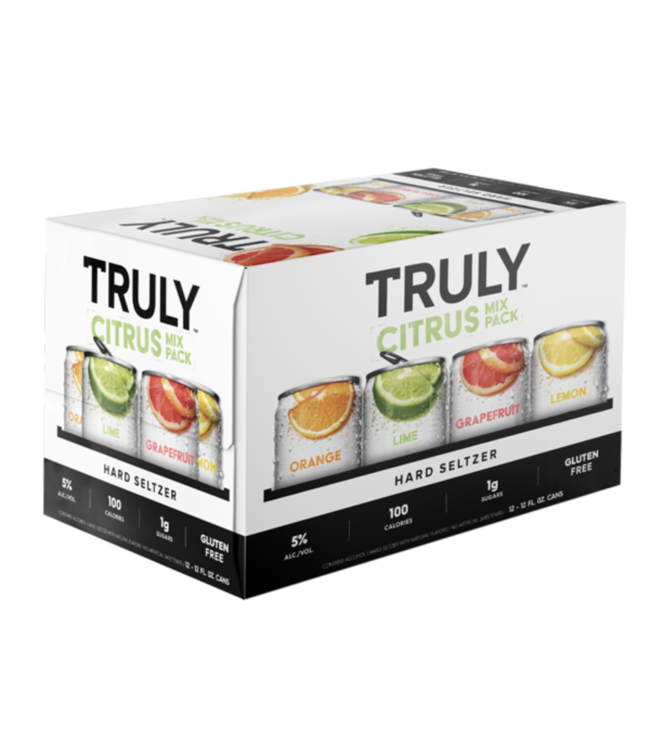 Truly  Variety Citrus (12pk 12oz cans)