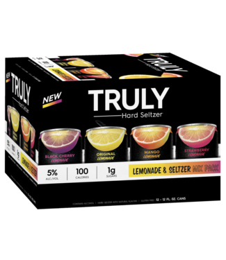 Truly Truly  Variety Lemonade (12pk 12oz cans)