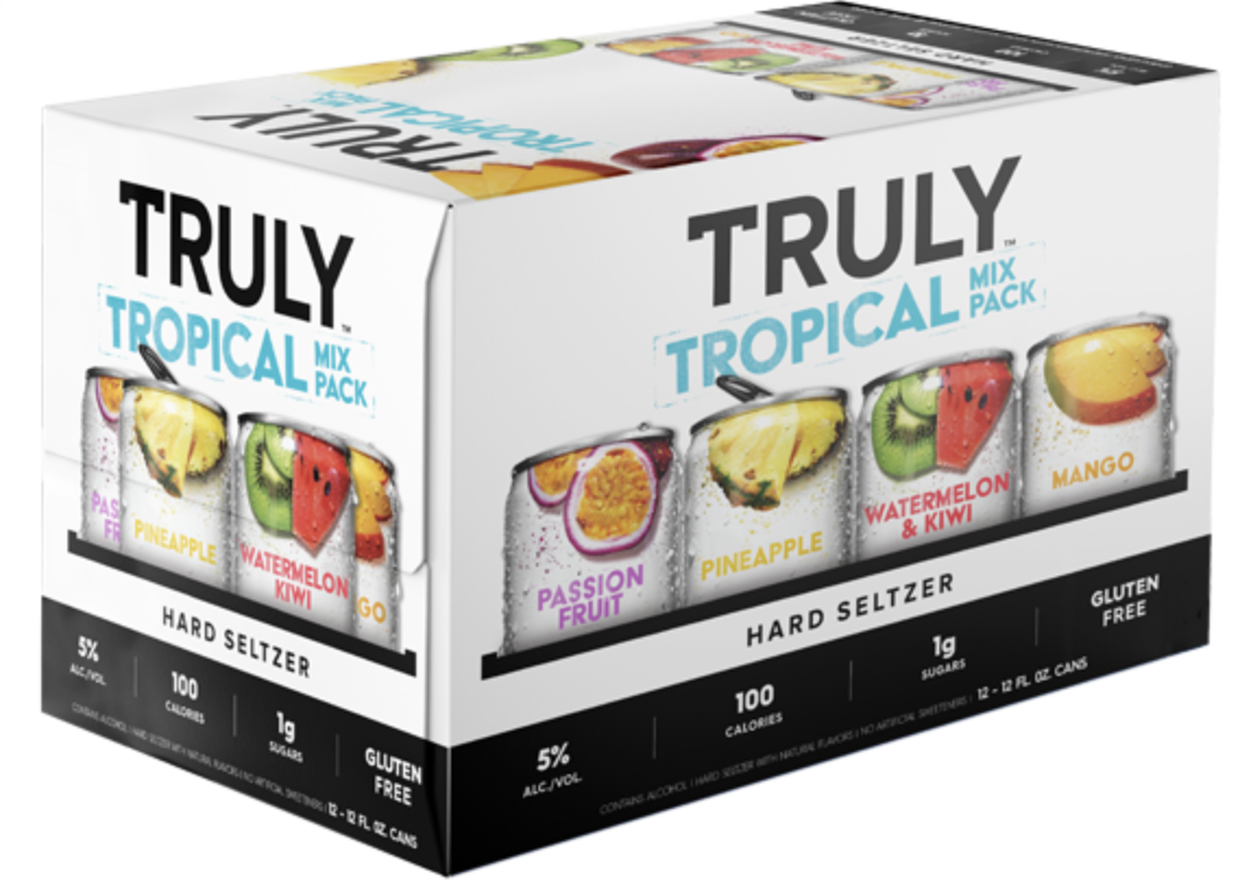 Truly Variety Pack  Tropical (12pk 12oz cans)