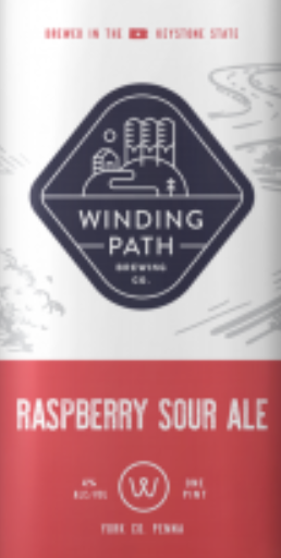 Winding Path Winding Path Raspberry Sour (4pk 16 oz cans)