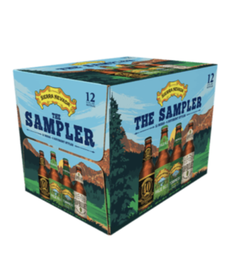 Sierra Nevada Sierra Nevada Sample Variety (12pk 12oz bottles)