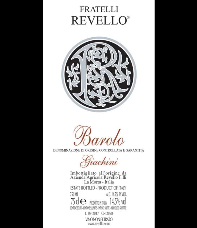 Fratelli Revello Barolo Giachini 2015