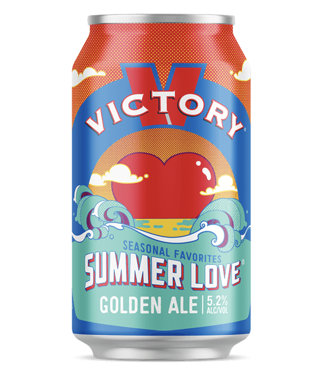 Victory Victory Summer Hazy Love IPA (6pk 12oz cans)