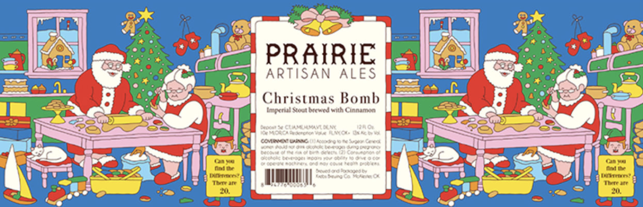 Prairie Prairie Christmas Bomb (12oz bottle)