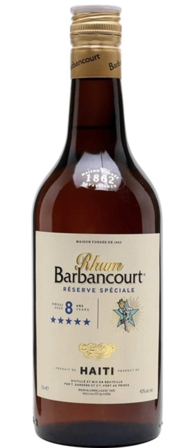 Barbancourt Barbancourt 5 Star Rum 750ml