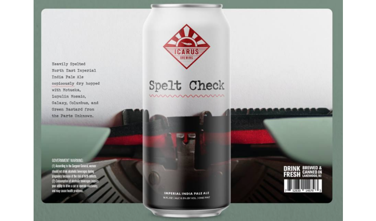 Icarus Icarus Spelt Check (4pk 16oz cans)