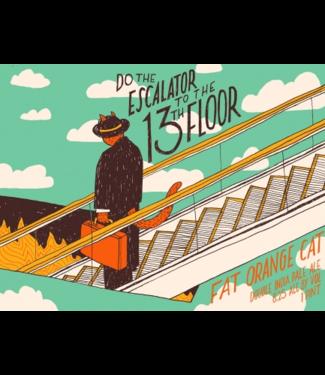 Fat Orange Cat Fat Orange Cat Escalator to the 13th floor (4pk 16oz cans)