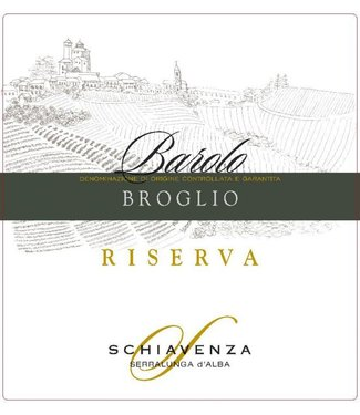 Schiavenza Broglio Barolo Riserva 2012