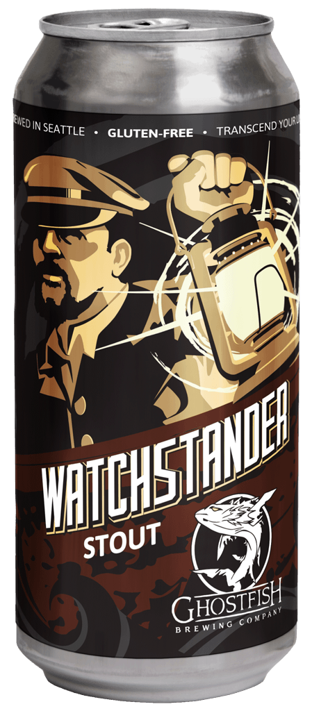 Ghostfish Ghostfish Watchstander Stout (4pk 16 oz cans)