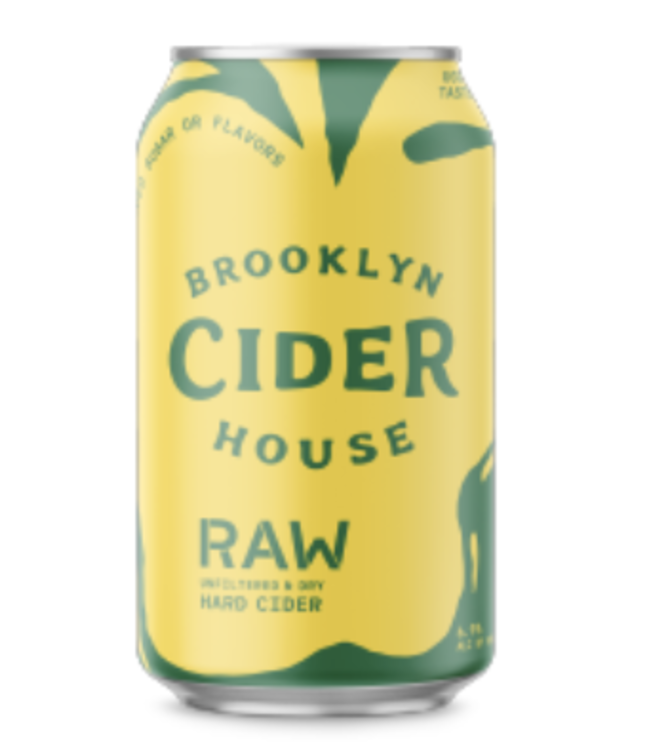 Brooklyn Cider Brooklyn Cider Raw (4pk 12oz cans)