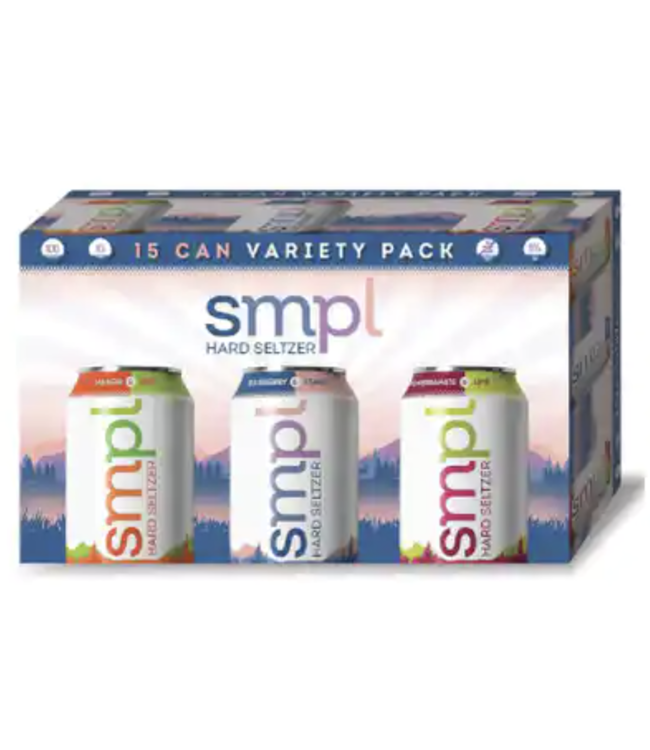 Flying Fish Flying FIsh SMPL Seltzer (15pk 12oz cans)