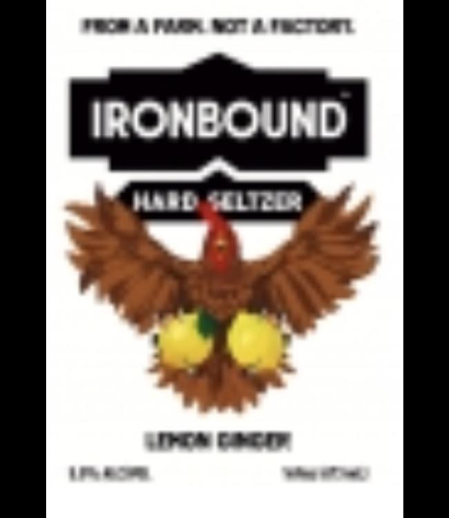 Ironbound Ironbound Lemon Ginger Seltzer (4pk 16oz cans)