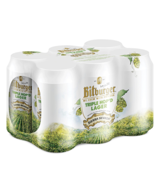 Bitburger Bitburger Triple Hopped Lager (6pk 12oz cans)