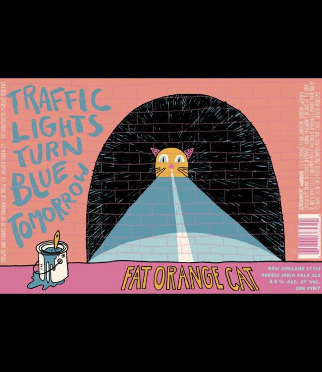 Fat Orange Cat Fat Orange Cat Traffic Lights Turn Blue (4pk 16oz cans)