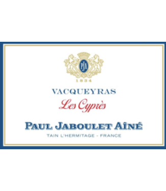 Paul Jaboulet Aine Vacqueyras les cyprès 2016