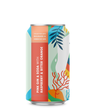 Collective Arts Collective Arts Pink Gin and Soda (4pk 12oz cans)