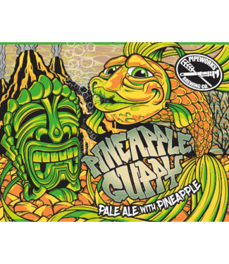 Pipeworks Pipeworks Pineapple Guppy (4pk 16oz cans)