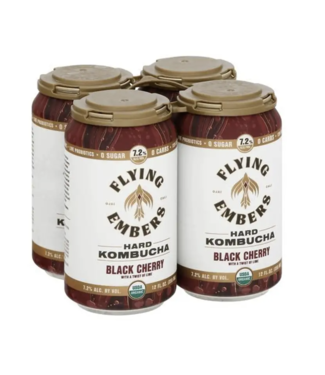 Flying Embers Flying Embers Black cherry (6pk 12oz cans)