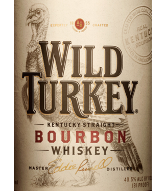 Wild Turkey Wild Turkey 81 750ml