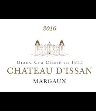 Blason d'Issan Margaux 2016