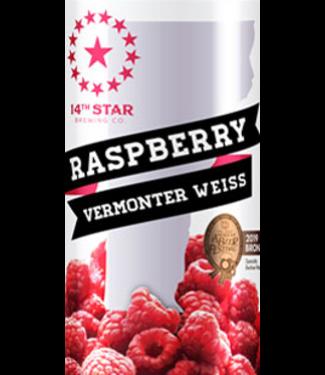 14 Star 14 Star Raspberry Vermonter Weisse (4pk 16oz cans)