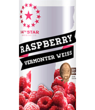 14 Star 14 Star Vermonter Weisse (4pk 16oz cans)