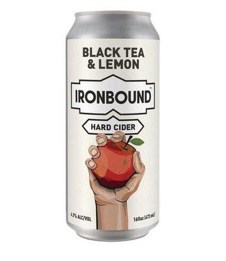 Ironbound Ironbound Black tea and Lemon (4pk 16oz cans)