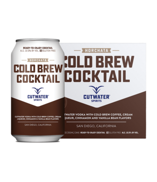 Cutwater Cutwater Horchata Cold Brew (4pk 12oz cans)