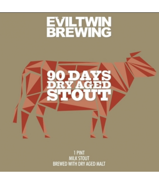 Evil Twin Evil Twin 90 Day Dry Aged Stout (4pk 16oz cans)