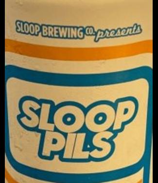 Sloop Brewing Pils (6pk 12oz cans)